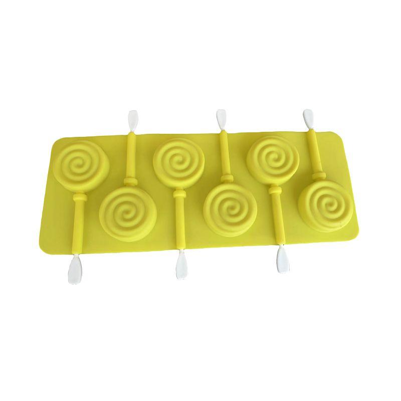 Cetakan Jelly Lolipop Bulat Cetakan Coklat or Permen