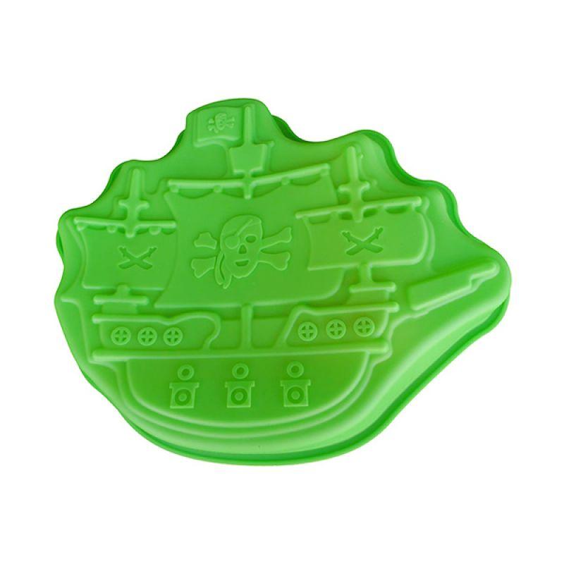 Cetakan Jelly Pirate Ship 2D Cetakan Kue or Puding