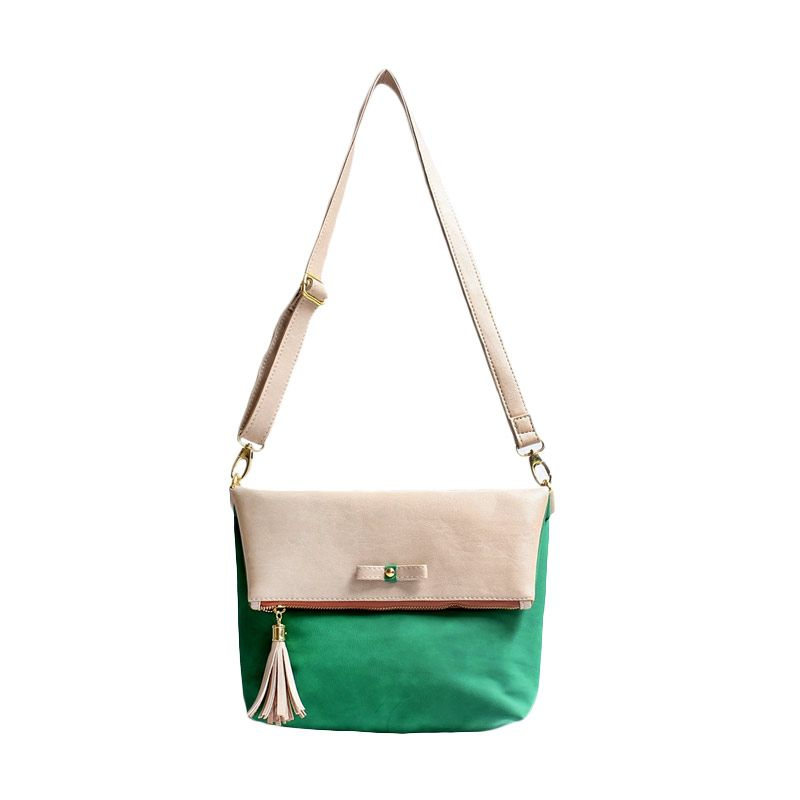 Ceviro Avantin Sling Bags Almond Green