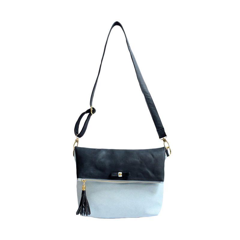 Ceviro Avantin Sling Bags Black Ice Blue