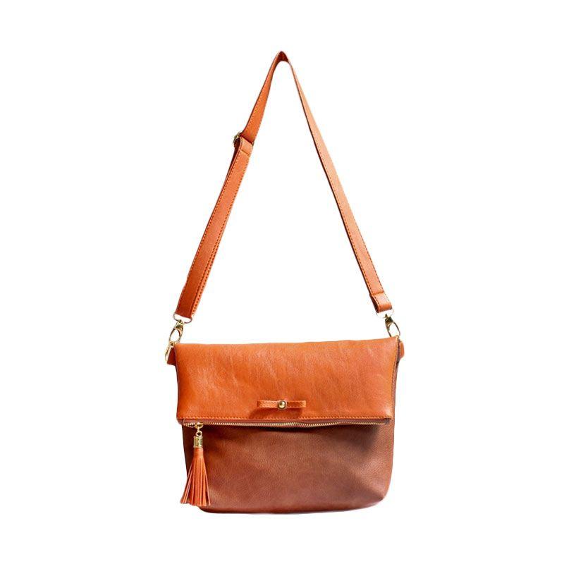 Ceviro Avantin Sling Bags Orange HazelNut