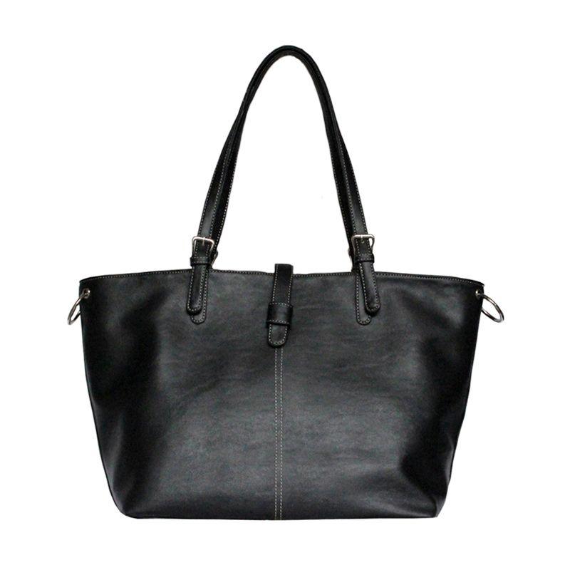 Ceviro Boca Black Shoulder Bag