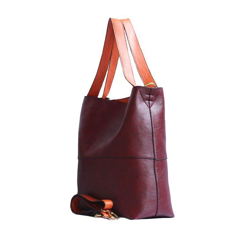 Ceviro Celoz Maroon Sling Bag