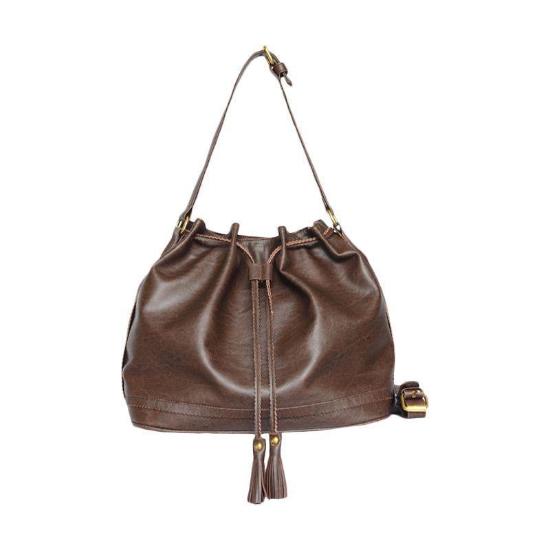 Ceviro Hungs-A Sling Bag Coffee Tas Selempang Wanita