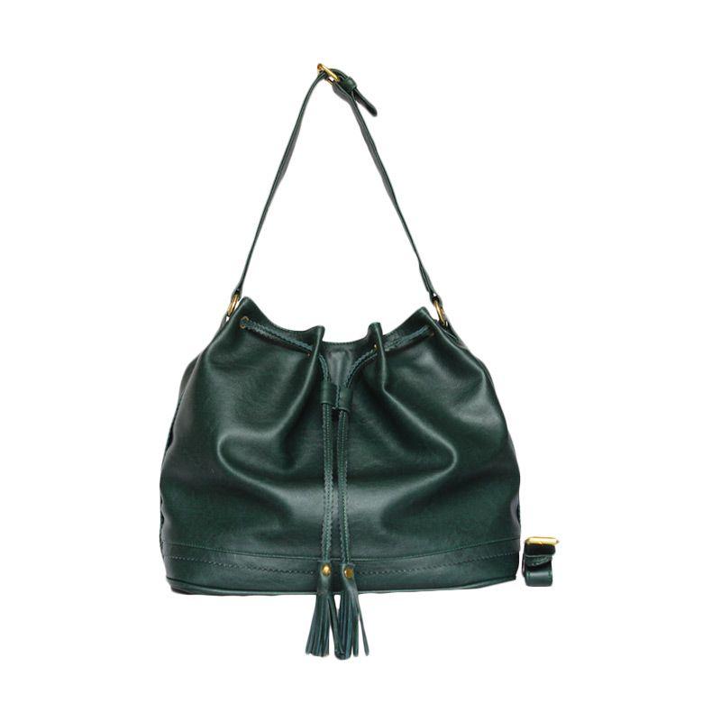 Ceviro Hungs-A Sling Bag Green Tas Selempang Wanita