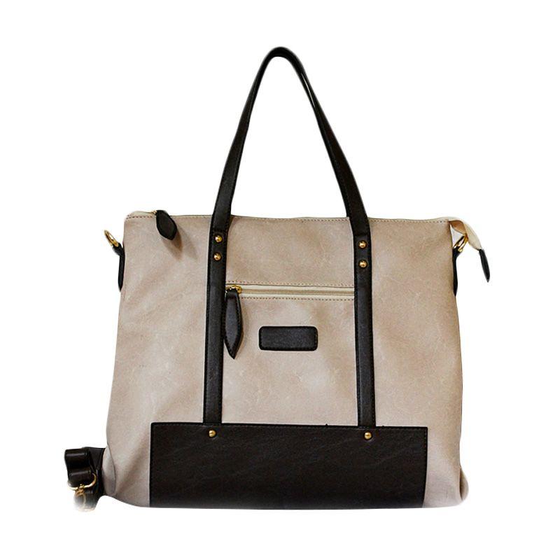 Ceviro Izzumi Shoulder Bag Almond Coffee Tas Selempang