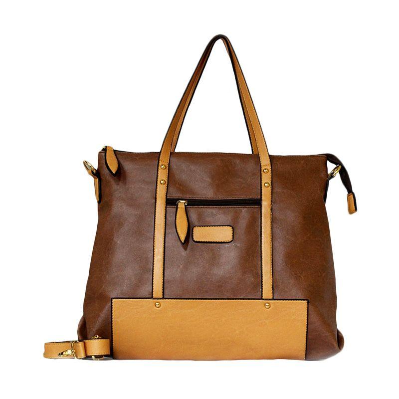 Ceviro Izzumi Shoulder Bag Brownstone Yellow Tas Selempang