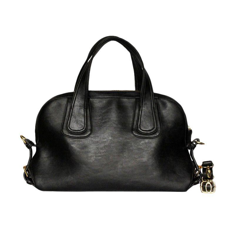 Ceviro Padova Hand Bag Black Tas Tangan