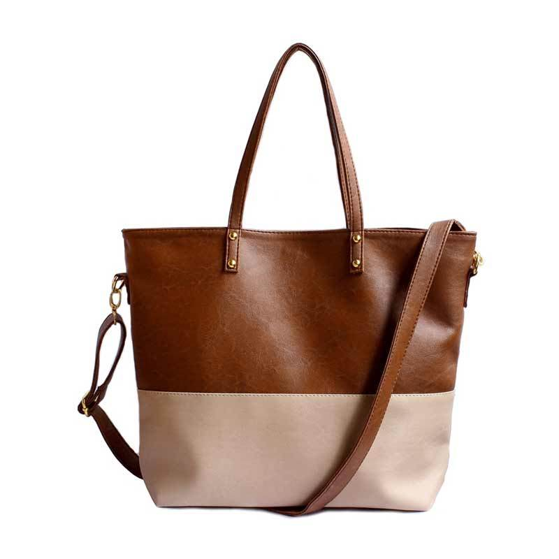Tas Ceviro Maica Brown Stone Almond