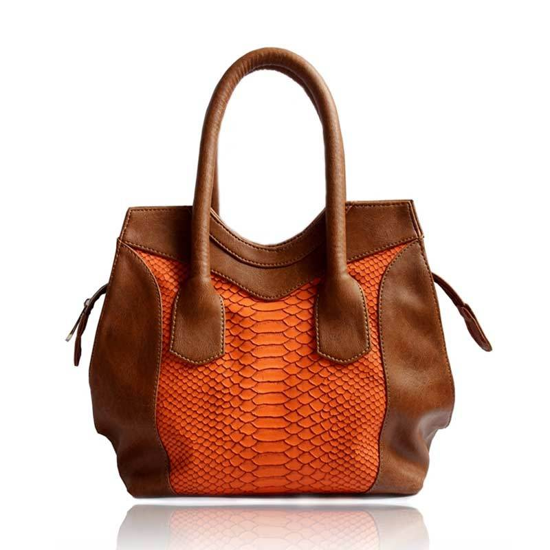 Tas Ceviro PoppyZoo Brown Orange