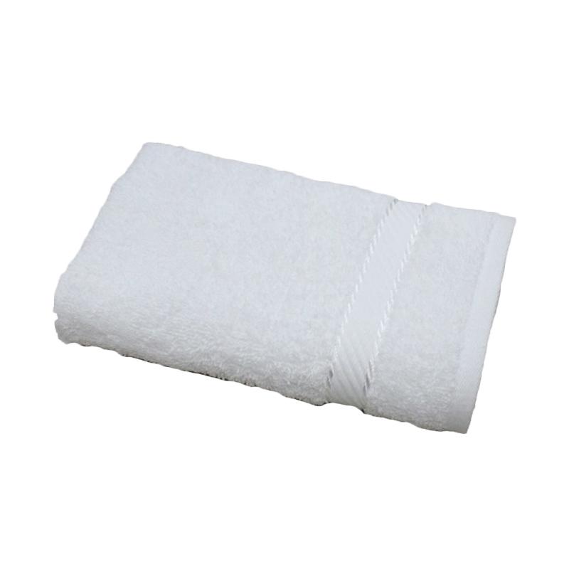 Chalmer Handuk Olahraga - Putih [34 x 80 cm]