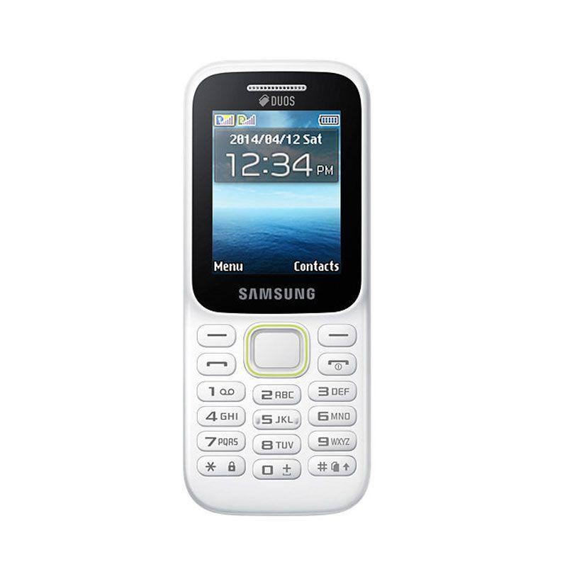 Samsung Guru Music SM-B310E Putih Handphone