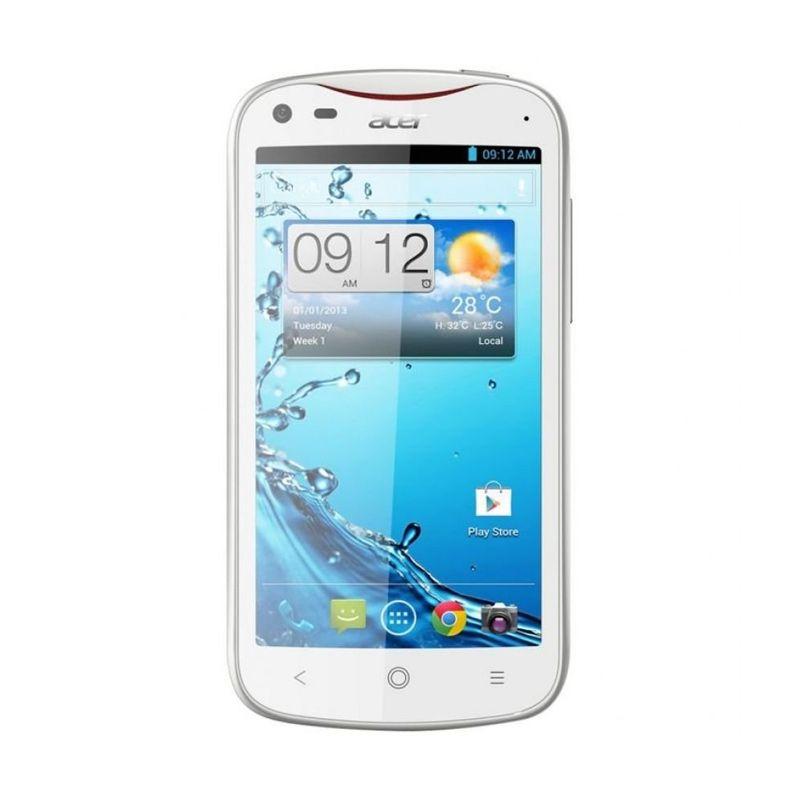 Acer V370 Liquid E2 Putih Smartphone