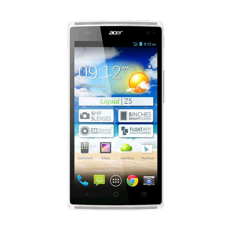 Acer Liquid Z5S Z150S 4 GB Putih Smartphone