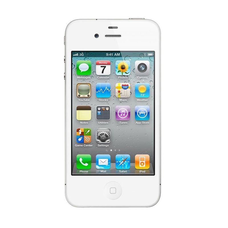 Apple iPhone 5 64 GB Putih Smartphone
