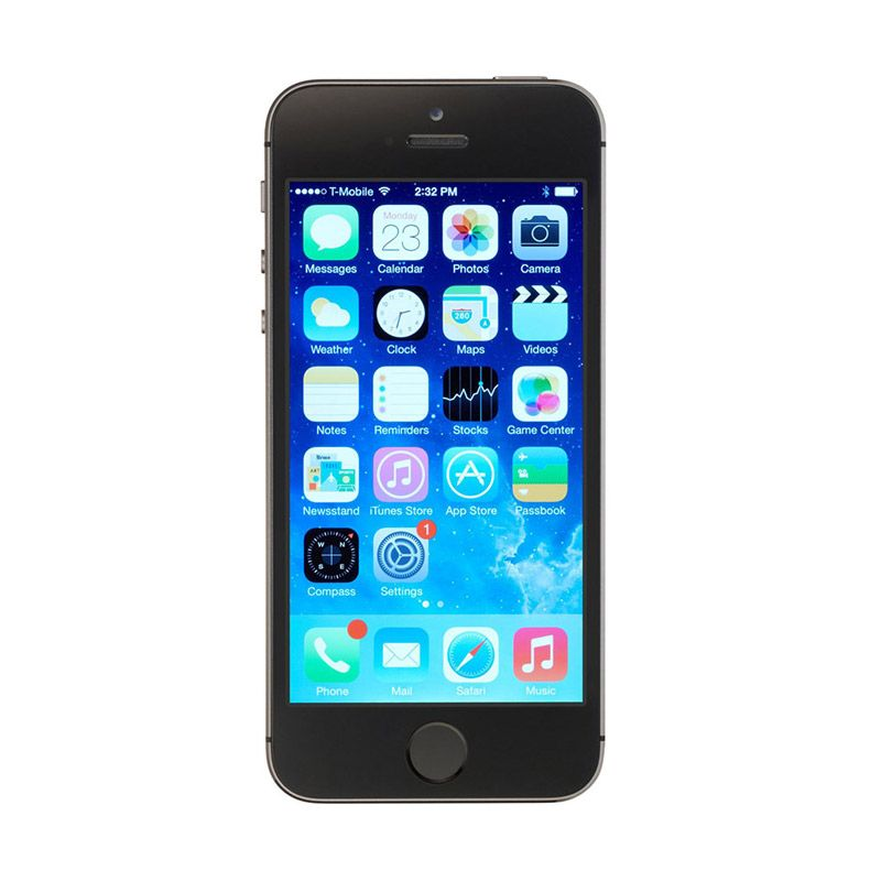 Apple iPhone 5S 16 GB Space Gray Smartphone [Garansi Resmi]