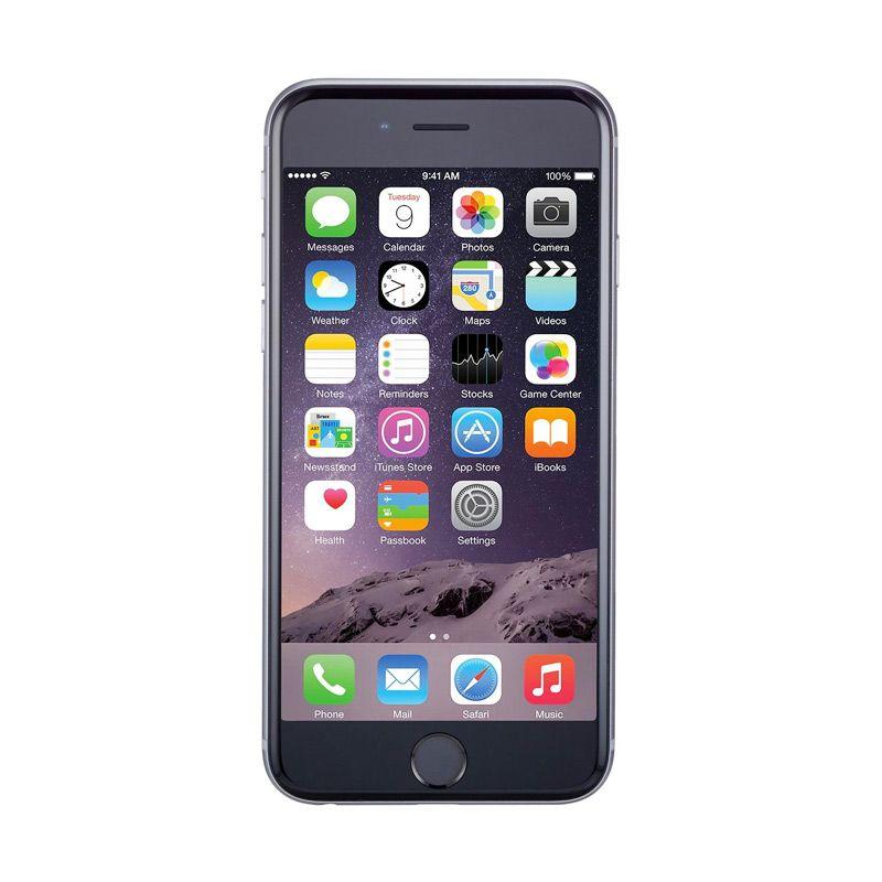 Apple iPhone 6 Plus Space Grey Smartphone [128GB/Garansi Resmi]