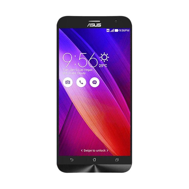 Asus Zenfone 2 ZE550ML Hitam Smartphone [16 GB/Garansi Resmi]