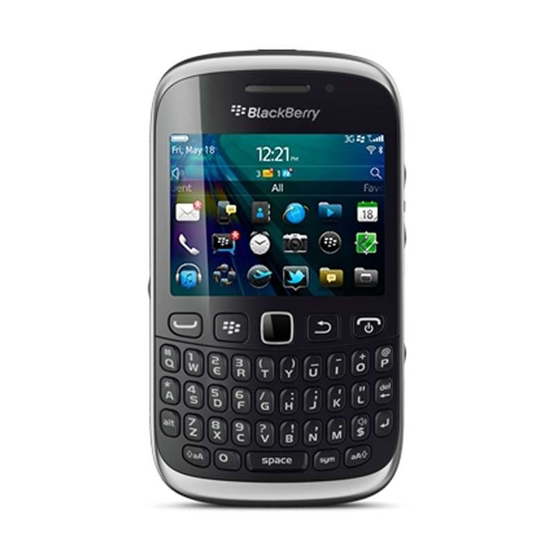 BlackBerry Armstrong Curve 9320 Hitam Smartphone