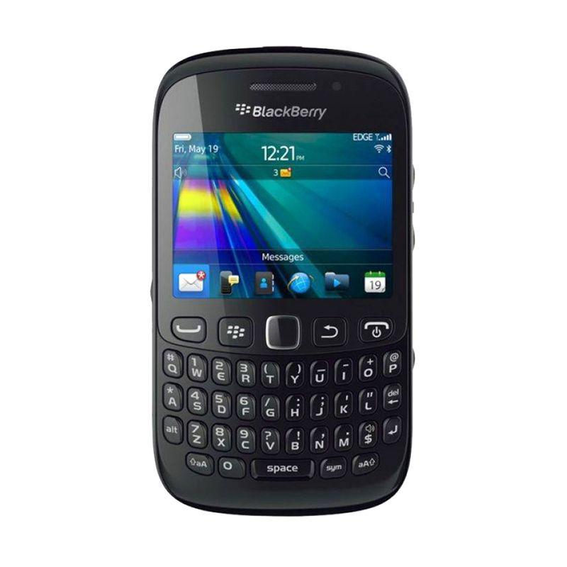 BlackBerry Davis 9220 Hitam Smartphone [Garansi Resmi]