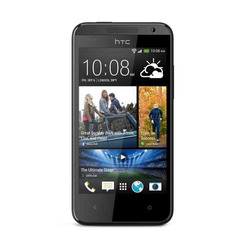 HTC 301E Desire 300 4 GB Hitam Smartphone