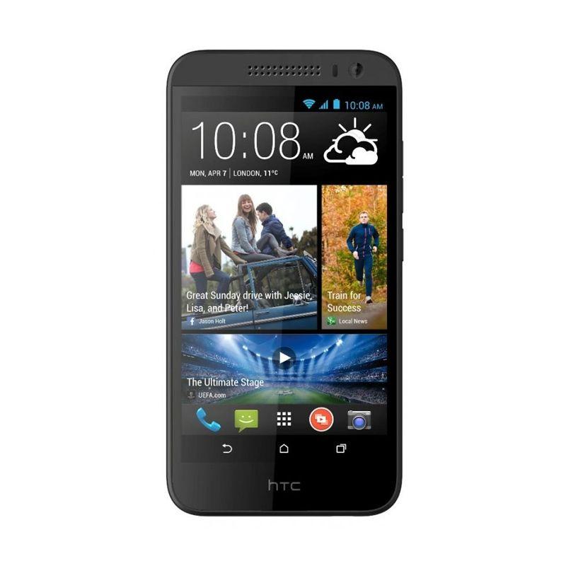 HTC Desire 616 Dual Sim - Octa Core - 4 GB Hitam Smartphone
