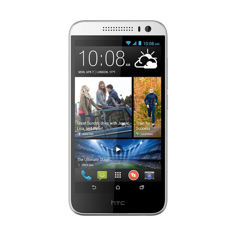 HTC Desire 616 Dual Sim - Octa Core - 4 GB Putih Smartphone