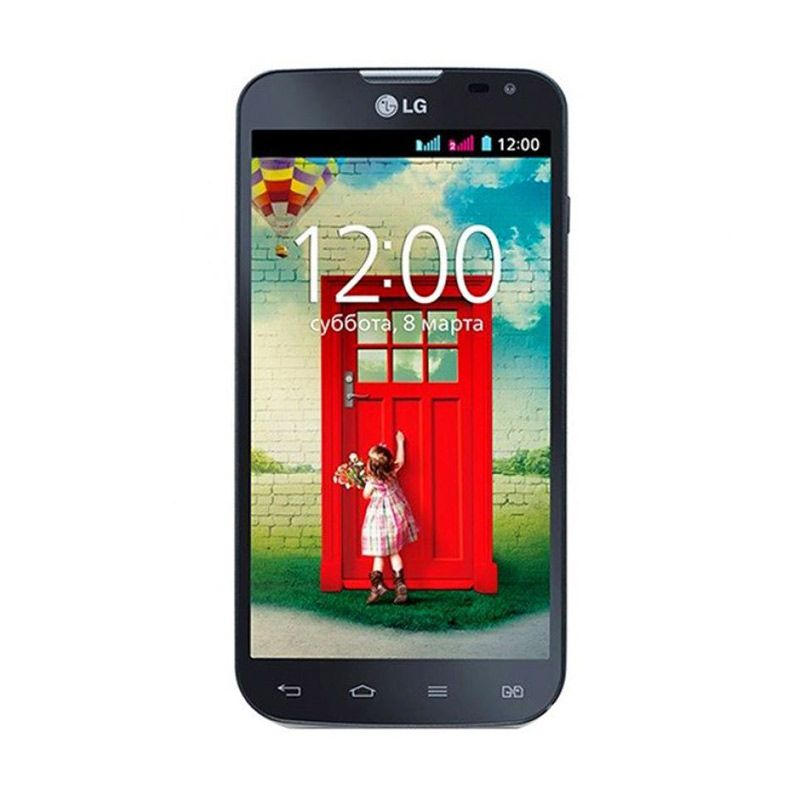 LG L90 Dual D410 Hitam Smartphone