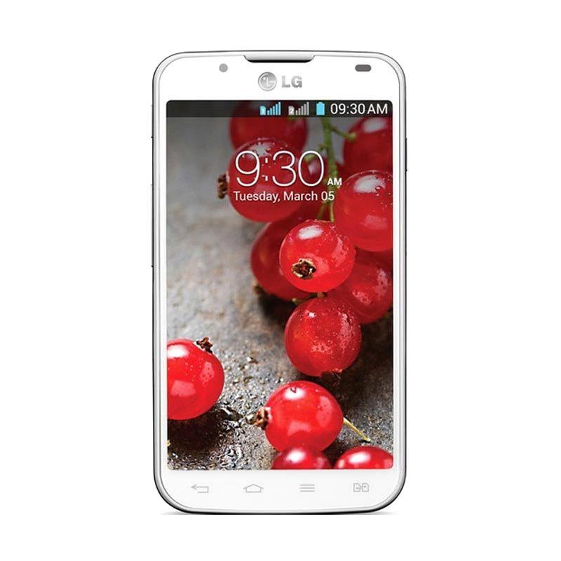 LG Optimus L7 II Dual P715 Putih Smartphone