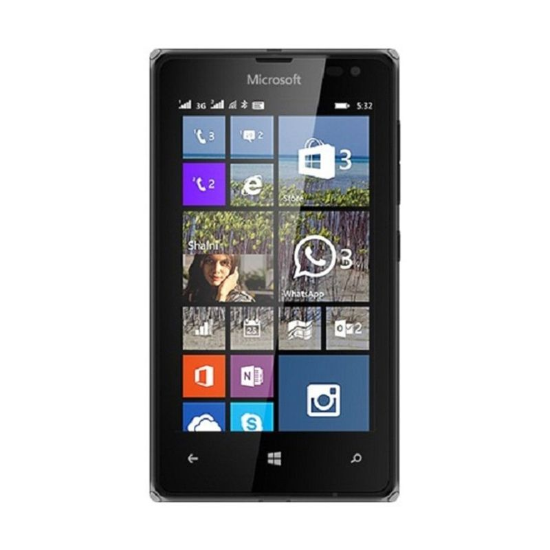 Microsoft Lumia 532 Hitam Smartphone