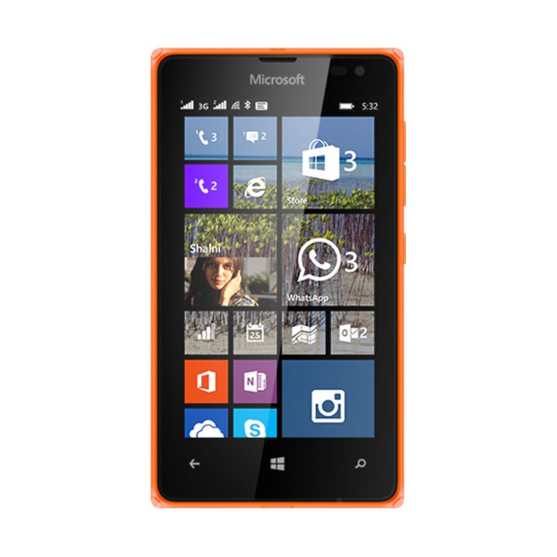 Microsoft Lumia 532 Orange Smartphone