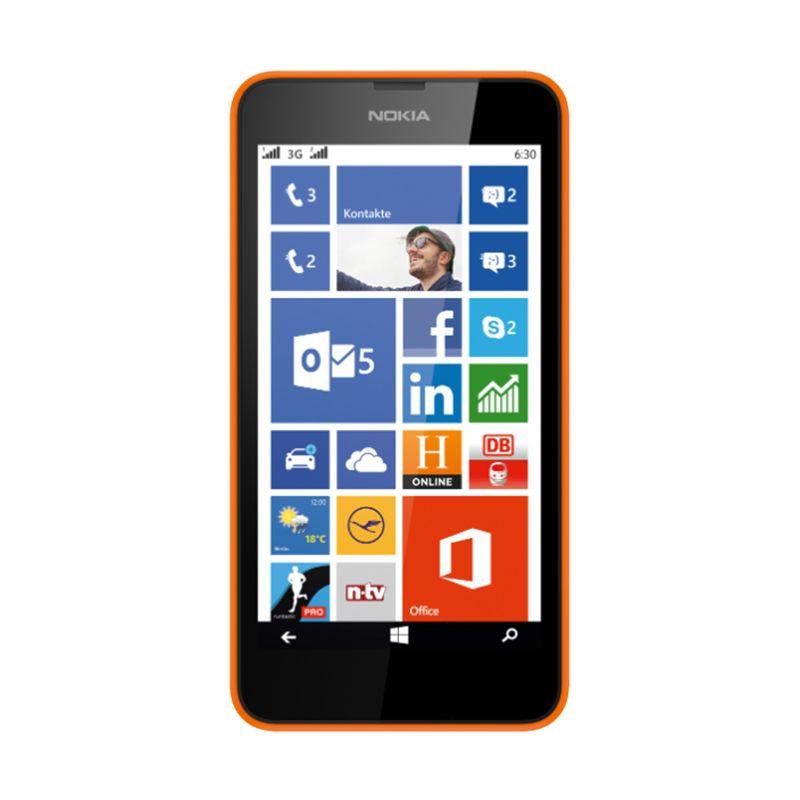 Microsoft Lumia 630 Orange Smartphone