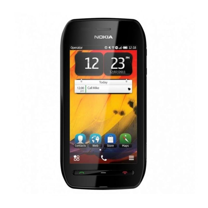 Nokia 603 Hitam Handphone