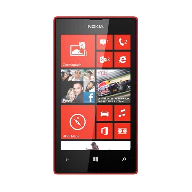 Nokia Lumia 520 Merah Smartphone