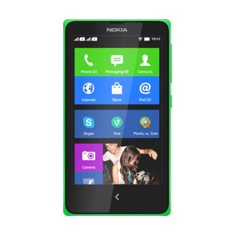 Nokia X Dual Sim Hijau Smartphone [4 GB]