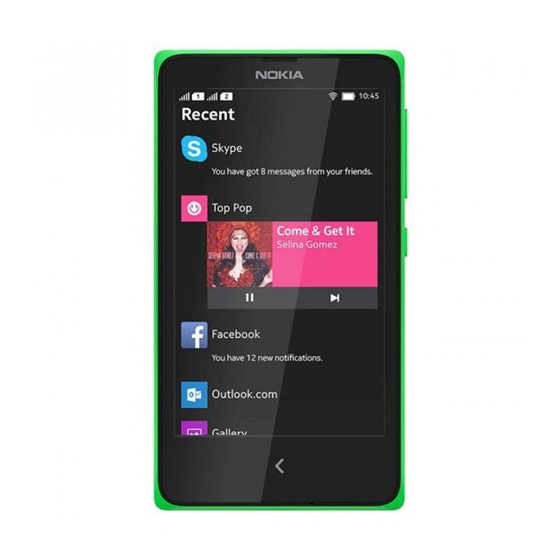 Nokia X Dual Sim Hijau Smartphone