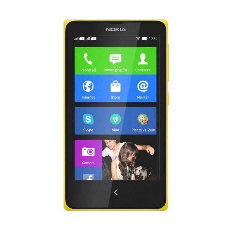 Nokia X Dual Sim Kuning Smartphone