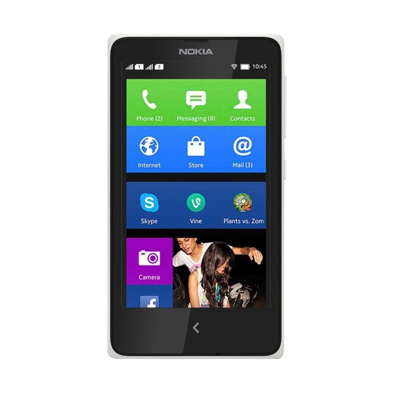 Nokia X Dual Sim Putih Smartphone [4 GB]