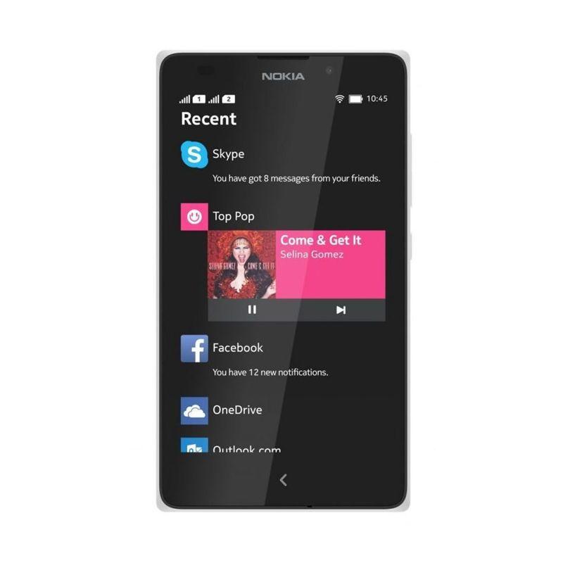 Nokia X2 Dual Sim Putih Smartphone [4 GB]