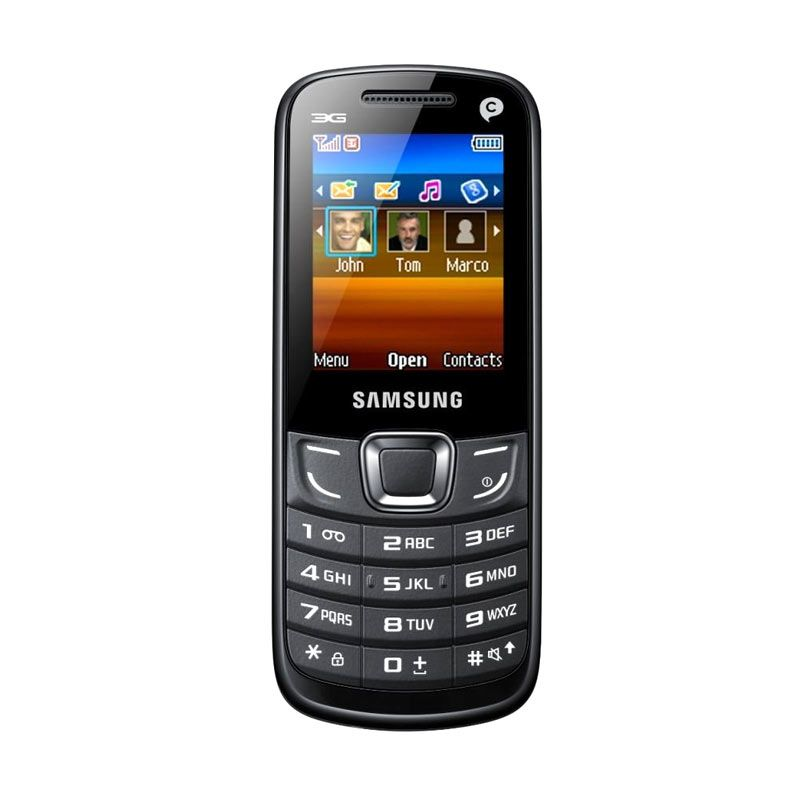 Samsung Erica E3309i Hitam Handphone
