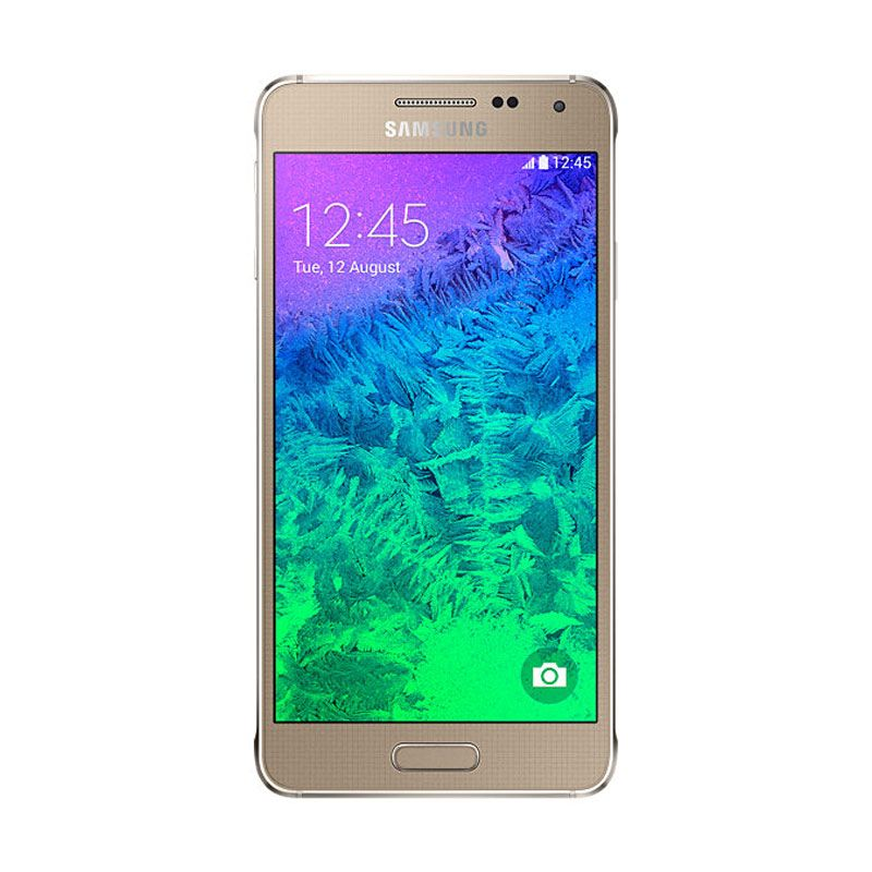 Samsung Galaxy Alpha SM-G850 32 GB Gold Smartphone