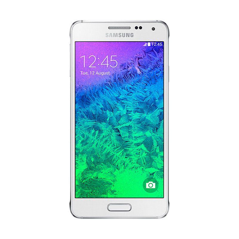 Samsung Galaxy Alpha SM-G850 32 GB Putih Dazzling Smartphone