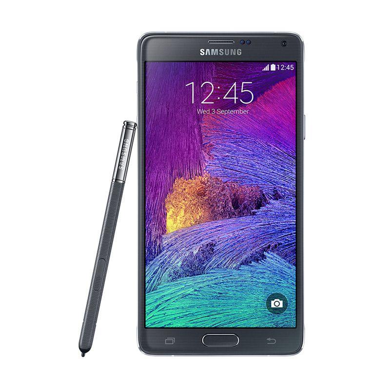 Samsung Galaxy Note 4 SM-N910H Hitam Smartphone [32 GB]