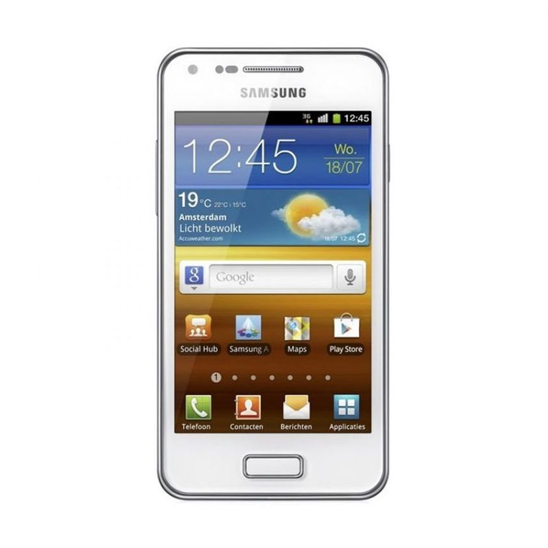 harga Samsung Galaxy S Advance i9070 Putih Smartphone [8 GB] Blibli.com