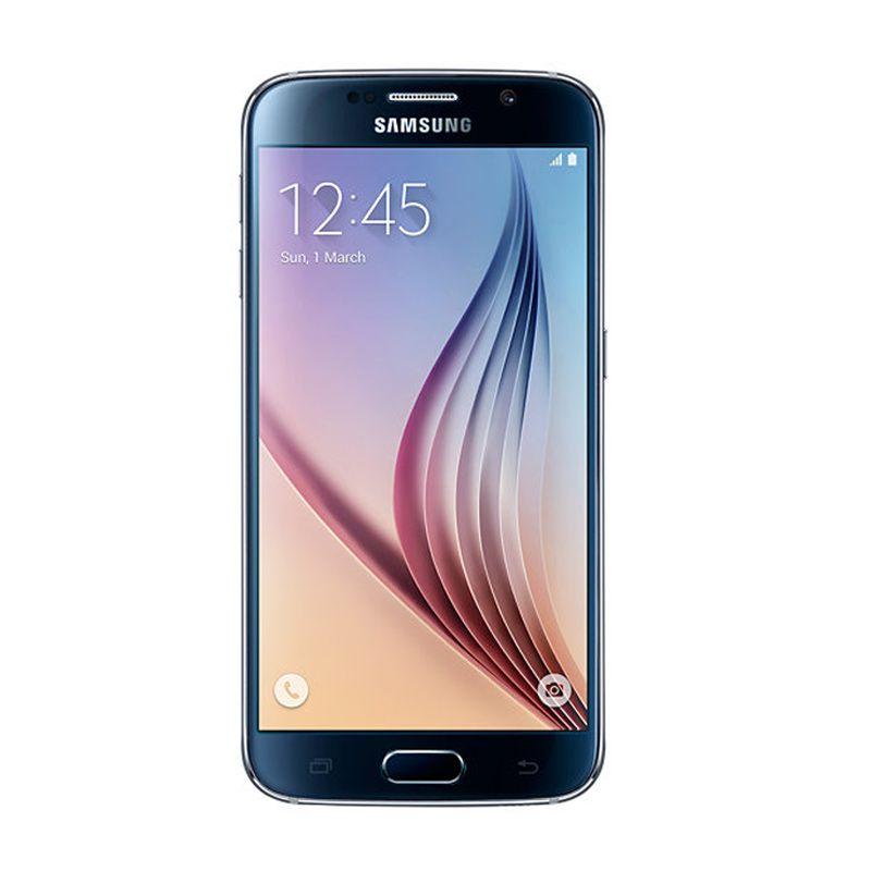 Samsung Galaxy S6 SM-G920F Hitam Smartphone