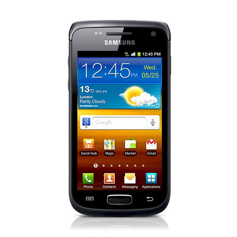 Samsung Galaxy Wonder i8150 Hitam Smartphone