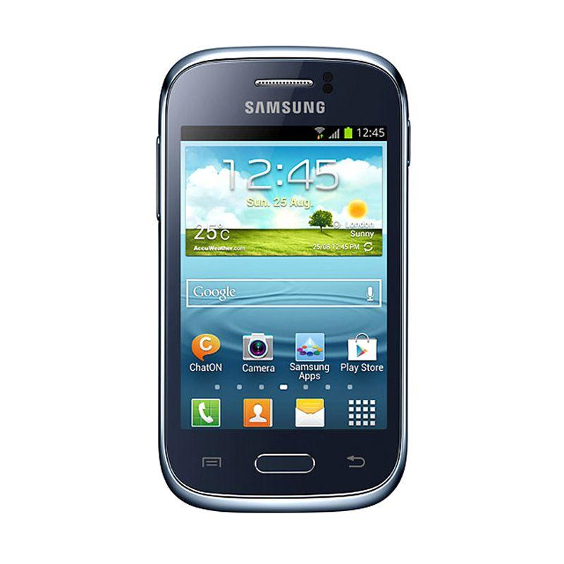 Samsung Galaxy Young S6310 Biru Smartphone