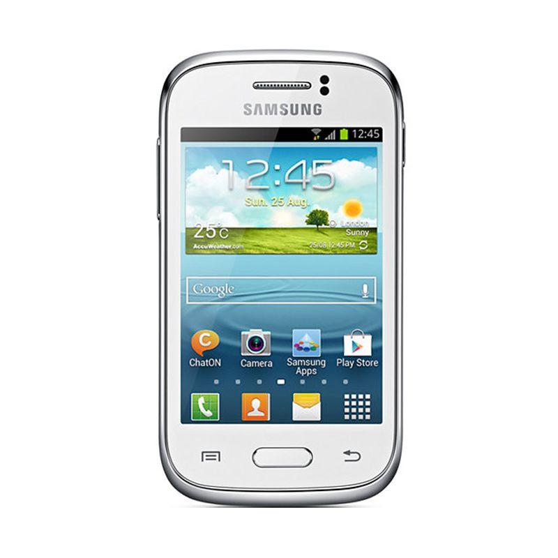 Samsung Galaxy Young S6310 Putih Smartphone