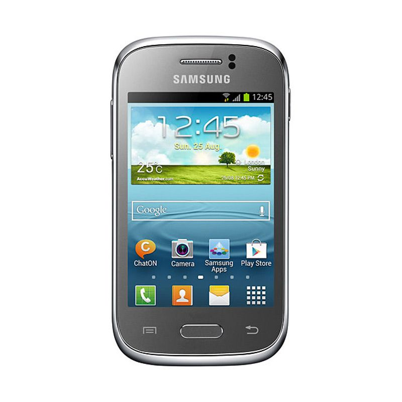 Samsung Galaxy Young S6310 Silver Smartphone