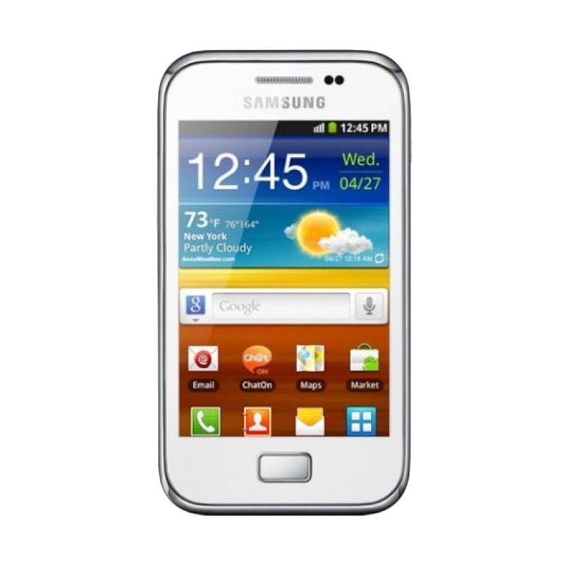 Samsung S7500 Ace Plus Putih Smartphone